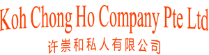 Welcome to Koh Chong Ho Pte Ltd